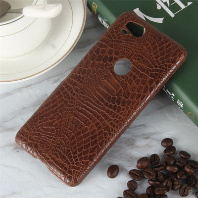 Crocodile Leather Case For Google Pixel 2
