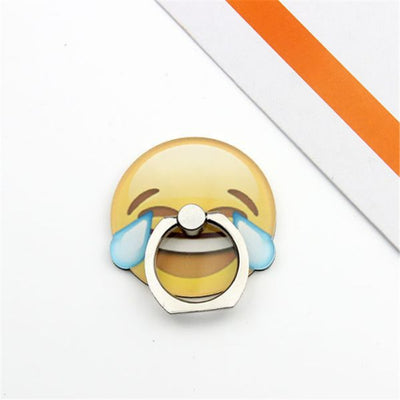 Cute Smiley Phone Ring Holder