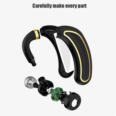 Ear Fitted Wireless Bluetooth Earbuds