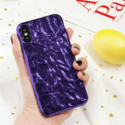 Electroplated Luxury iPhone X Cover