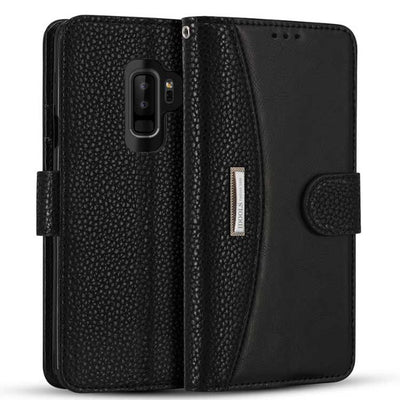 """Flip Leather Case For Samsung S9  """