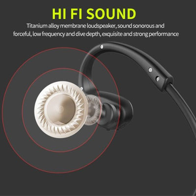 H6 Brass Wireless Bluetooth Earbuds