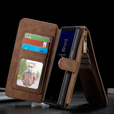 Flip Detachable Wallet Samsung Note 8 Case