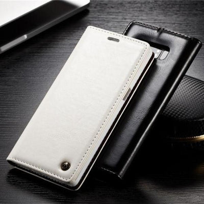 Leather Magnetic Wallet Case for Samsung Note 8