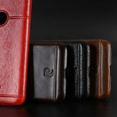 Hard Leather Case For Google Pixel