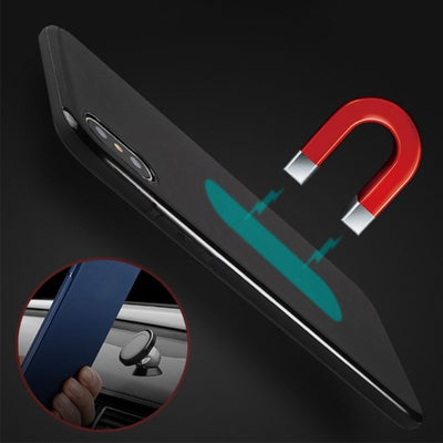 Hidden Magnetic Slim Protective iPhone X Case