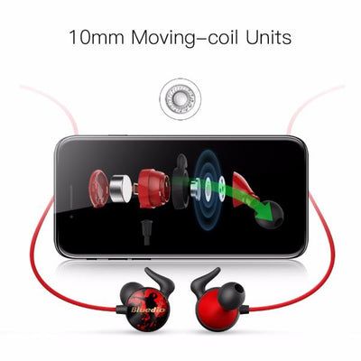 Hip-Hop Fashioned Bluetooth Earphone