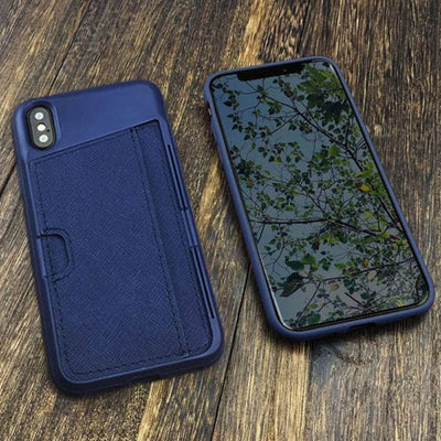 Kick Wallet Soft iPhone X Cover