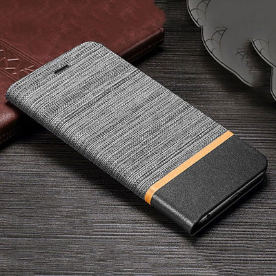 Leather Flip Case For Samsung S9