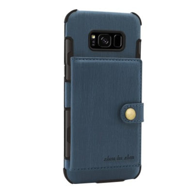 Leather Wallet Case For Samsung S8