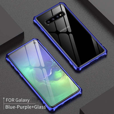 Metal Series - Armor Cover Case Samsung S10/S10+/S10E