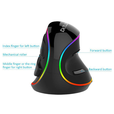M618 PLUS Ergonomics Vertical Gaming Mouse - thevallleyshop