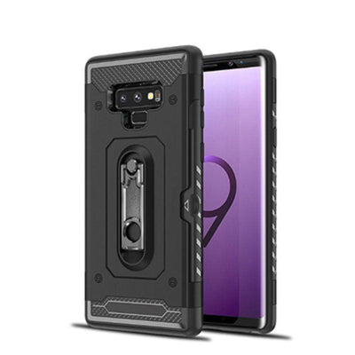 Metal Kickstand Hard Armor Case For Note 9