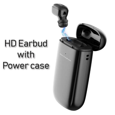 Mini Traveler HD Earbud with Power Case