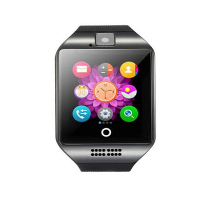 New Q18 With Camera Bluetooth Wrist Watch For IOS Android