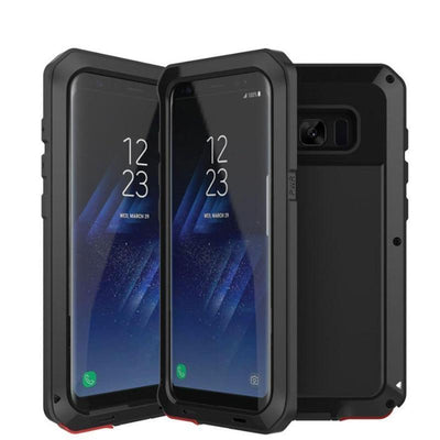 Shockproof Metal Case For Galaxy S8 & S9
