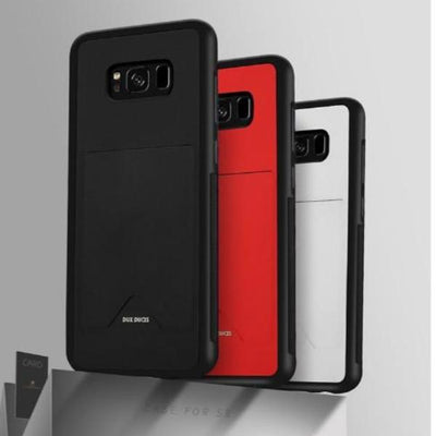 PU Pocket Leather Cover for Samsung S8