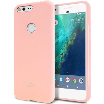 Pearl Jelly Case For Google Pixel