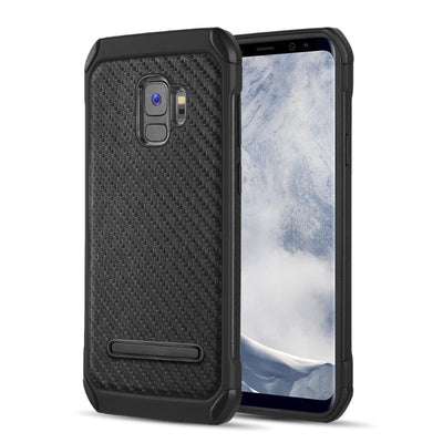 S9 Carbon Fiber Kick Stand Case