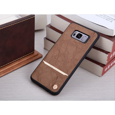 Stylish Leather Samsung S8 Cover