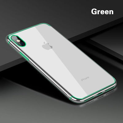 Transparent Luxury iPhone X Case
