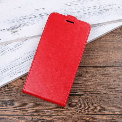 Vertical Cool Google Pixel 2 Leather Flip Case