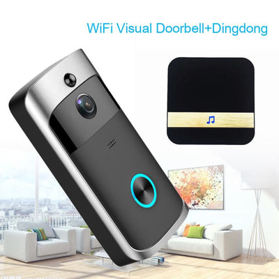 WiFi Intelligent Video Doorbell + HD Camera
