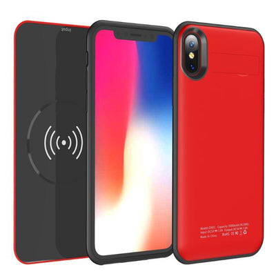 Wireless Removable Battery Case For iPhone X