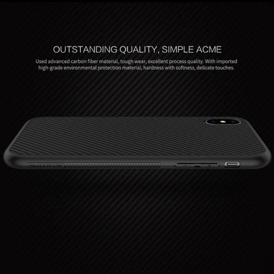 iPhone X Carbon Fiber Case + FREE GLASS PROTECTOR