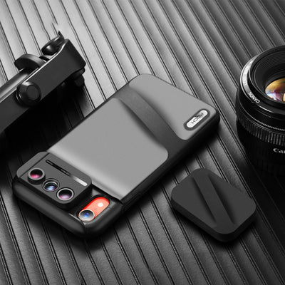 6 in 1 Camera Lens & Case For iPhone