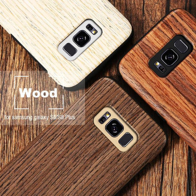 Wood Pattern Case for Galaxy S8 and S8+