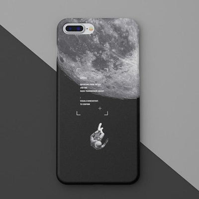 Moon Matte Natural Cover For iPhone 8