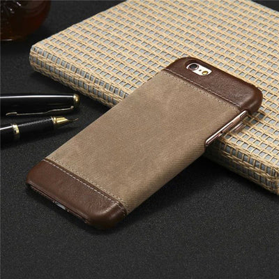 Leather Jeans PC IPhone 8 Cover