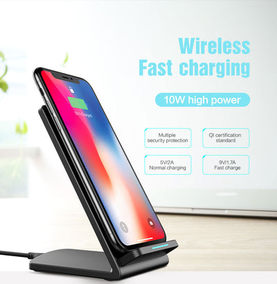 double coiled fast wireless charger