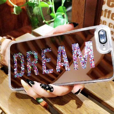 Shining Shakey Mirror Case For iPhone