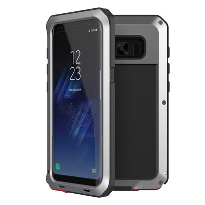 Shockproof Metal Case For Samsung Galaxy S8 & S9