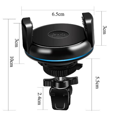 Edge Fast Wireless Charging Car Phone Holder