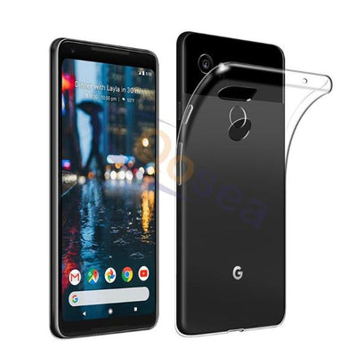 Real Transparent Case For Google Pixel 2
