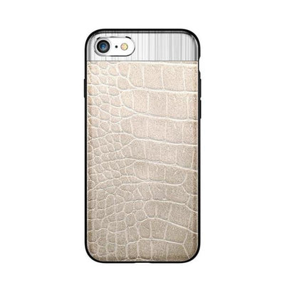 CROCO 3 Leather Metal Case IPhone 8