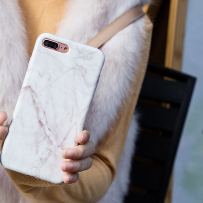 Marble Patterned iPhone Cover
