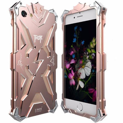 Powerful Abstract Metal Case iPhone 7