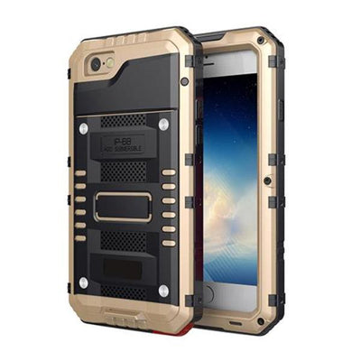 Temp Glass Metal Cover for iPhone
