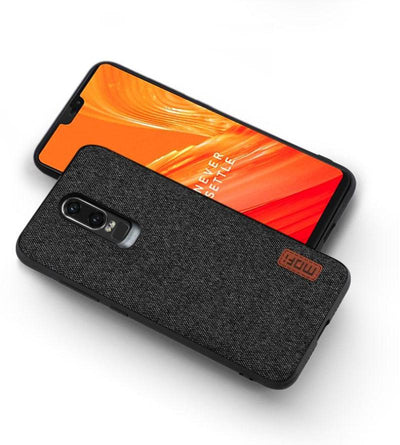 One Plus 6 Fabric Silicone Case