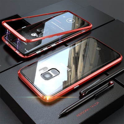 Magnetic Snap Samsung Case + Free Screen Protector