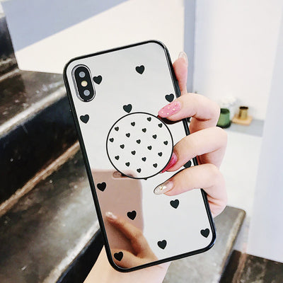Case with popsocket for iPhone X