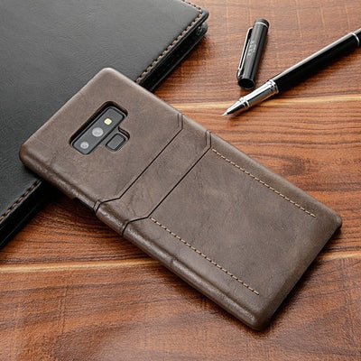 Wallet leather Case For Samsung