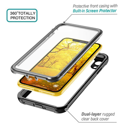 Full Body Rugged Case for iPhone X/XS/Xs Max