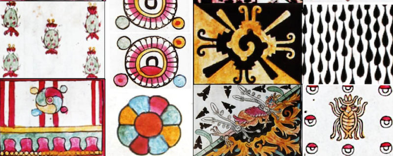 Cosmic designs in prehispanic textiles
