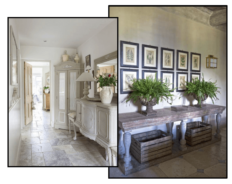 Example of provence theme entryway