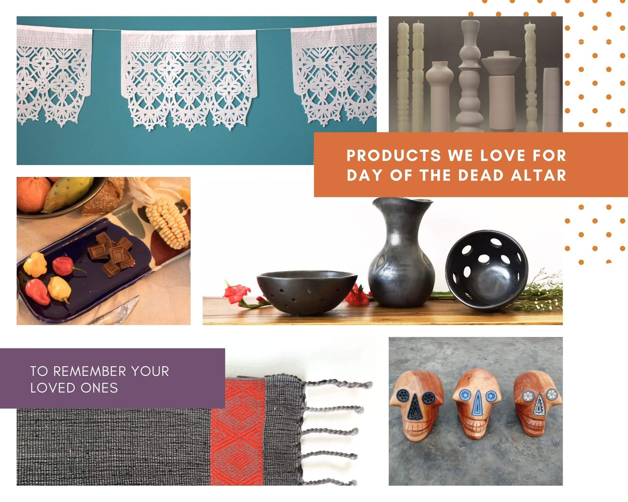 Products for day of the day altar
